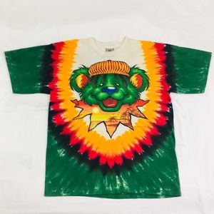 Vintage 1999 Single Stitch Grateful Dead Bear Tee